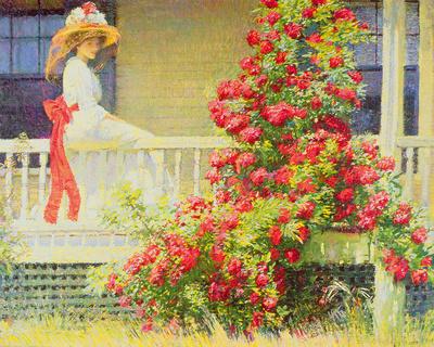 Crimson Rambler Giclee Print by Philip Leslie Hale