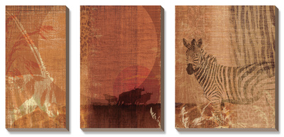 Safari Sunset I Posters by Tandi Venter