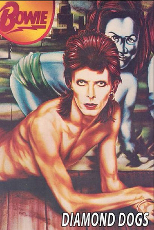 David Bowie - Diamond Dogs Poster