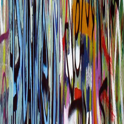 Graffiti II Giclee Print by Tony Koukos