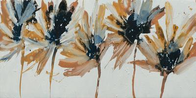 Sepia Flurry I Giclee Print by Lilian Scott