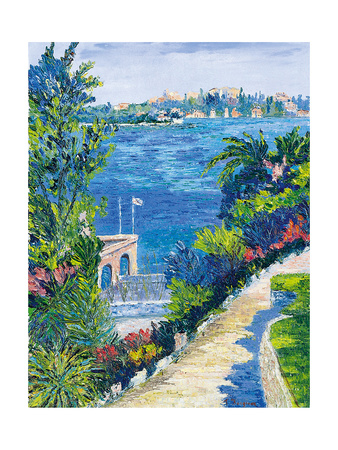 Villefranche-Sur-Mer Giclee Print by Tania Forgione