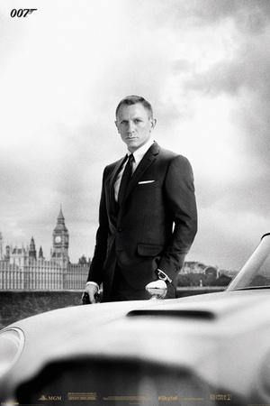 James Bond – Bond & DB5 - Skyfall Posters