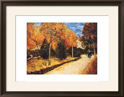 Autumn Garden Prints by Vincent van Gogh