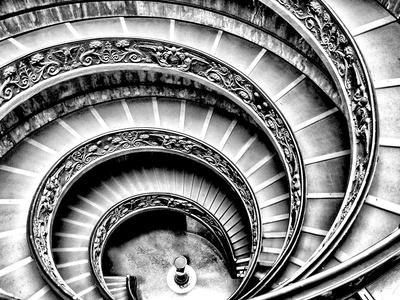 らせん階段 写真プリント : Andrea Costantini
