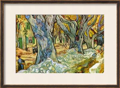 Roadman by Van Gogh Posters by Vincent van Gogh
