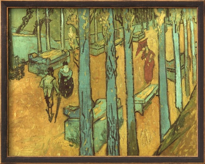 Van Gogh: Alyscamps, 1888 Framed Giclee Print by Vincent van Gogh