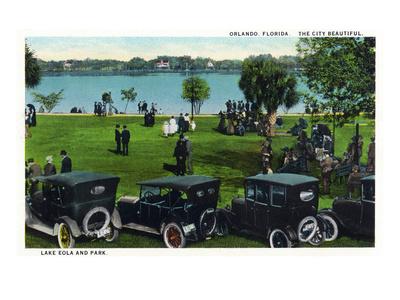 Orlando, Florida - Angebilt Hotel Exterior Prints by  Lantern Press