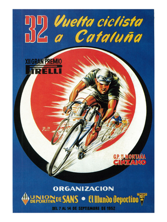 Bicycle Racing Promotion Prints by  Lantern Press