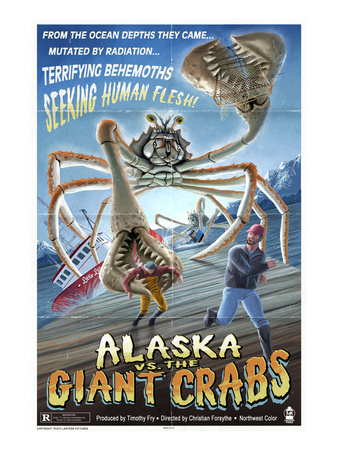 Alaska vs. the Giant Crabs Art by  Lantern Press