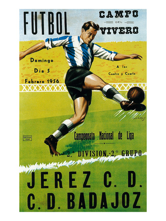 Futbol Promotion - Campo Del Vivero Prints by  Lantern Press