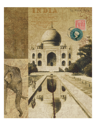 Voyage to India Posters by Hugo Wild