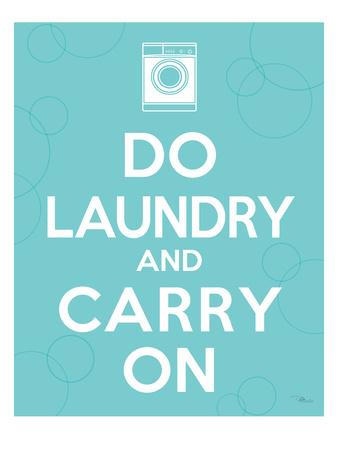 Laundry On I Premium Giclee Print by  Pela