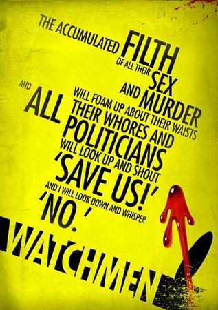 Watchmen Masterprint
