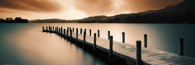 Wooden Landing Jetty Posters