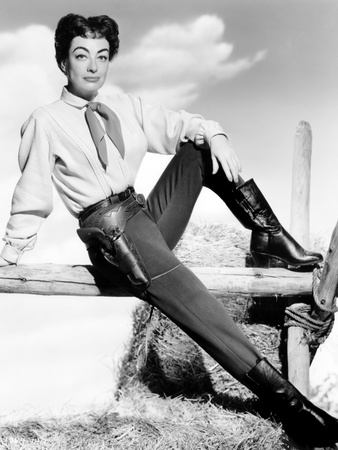 Johnny Guitar, Joan Crawford, 1954 Photo