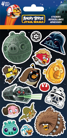 Angry Birds Star Wars Sheet Stickers Stickers