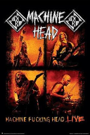Machine Head Live Poster