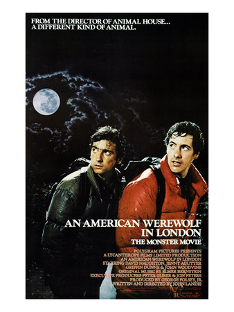 An American Werewolf In London, Griffin Dunne, David Naughton, 1981 Photo