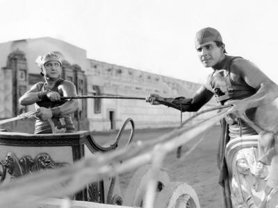 Ben-Hur, Francis X. Bushman, Ramon Novarro, 1925 Photo