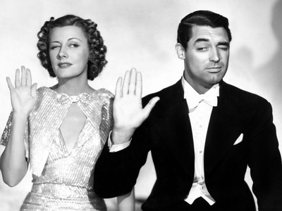 The Awful Truth, Irene Dunne, Cary Grant, 1937 Photo