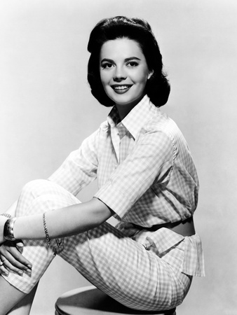 Natalie Wood as Seen in the Film 'Bombers B-52' 1957 Photo