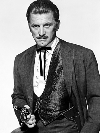 Gunfight at the O.K. Corral, Kirk Douglas, 1957 Photo