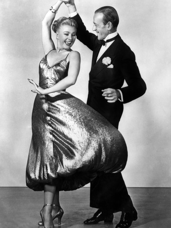The Barkleys of Broadway, Ginger Rogers, Fred Astaire, 1949 Photo