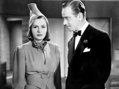 Ninotchka, Greta Garbo, Melvyn Douglas, 1939 Photo