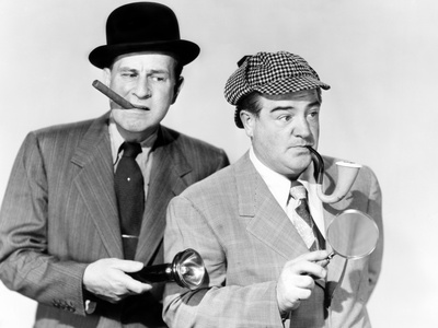 Abbott and Costello Meet the Invisible Man, Bud Abbott, Lou Costello, 1951 Photo