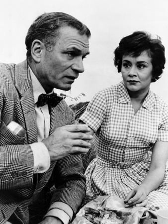 The Entertainer, Laurence Olivier, Joan Plowright, 1960 Photo