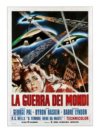 The War of the Worlds (AKA La Guerra Dei Mondi), 1953 Photo