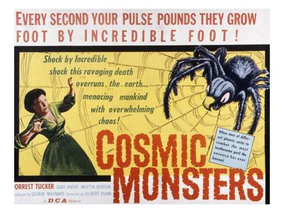 The Cosmic Monster, (AKA Cosmic Monsters, AKA the Strange World of Planet X), Gaby Andre, 1958 Photo