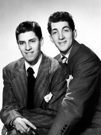 The Comedy Team of Jerry Lewis and Dean Martin, ca. 1946 Photo