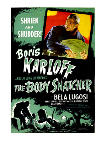 The Body Snatcher, Boris Karloff, 1945 Photo