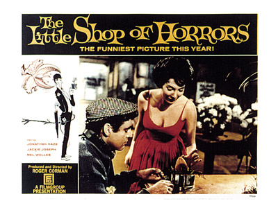 The Little Shop of Horrors, Jonathan Haze, Jackie Joseph, 1960 Photo