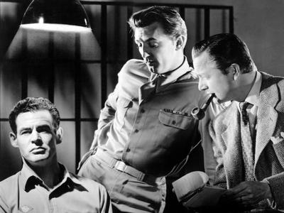 Crossfire, Robert Ryan, Robert Mitchum, Robert Young, 1947 Photo