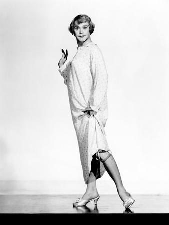 Some Like It Hot, Jack Lemmon, 1959, Showing 'Her' Stockings Photo