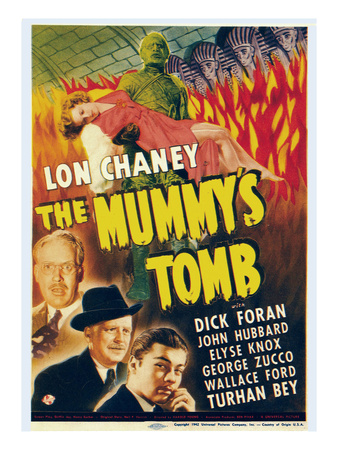 The Mummy's Tomb, 1942 Photo!