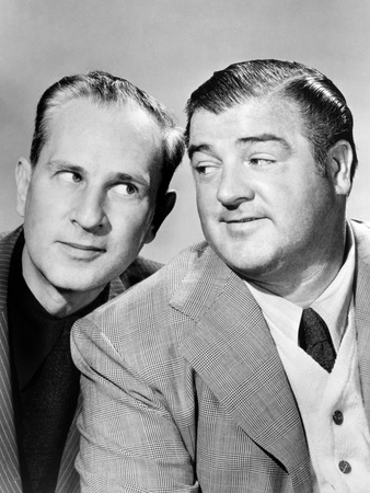 Bud Abbott and Lou Costello [Abbott and Costello], c. Mid 1940s Photo