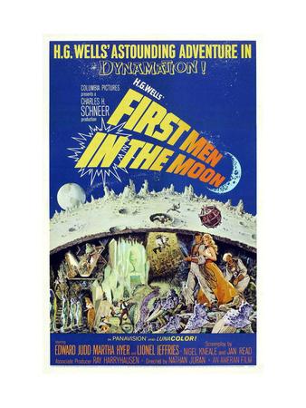 First Men In the Moon, Edward Judd, Martha Hyer, Lionel Jeffries, 1964 Photo