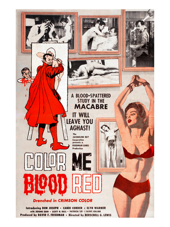 Color Me Blood Red, Gordon Oas-Heim, (Top Right), 1965 Photo