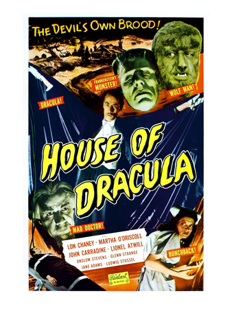 House of Dracula, 1945 Photo