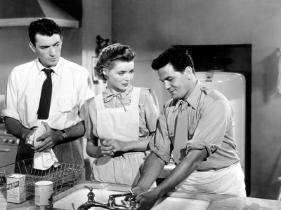 Gentleman's Agreement, Gregory Peck, Dorothy McGuire, John Garfield, 1947 Photo