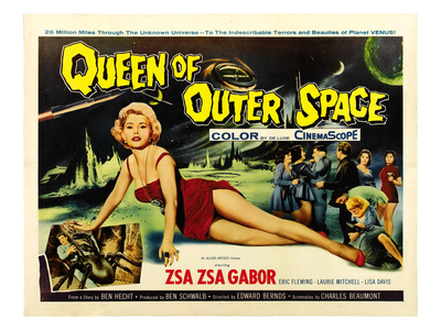 Queen of Outer Space, Zsa Zsa Gabor, 1958 Photo