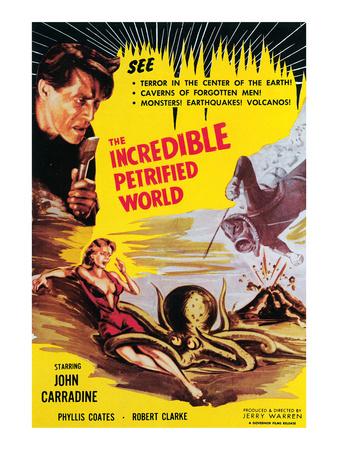 The Incredible Petrified World, John Carradine, 1959 Photo