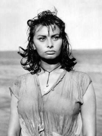 Boy on a Dolphin, Sophia Loren, 1957 Photo
