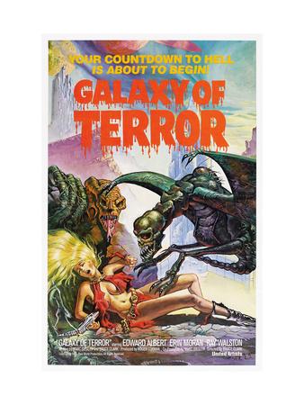 Galaxy Of Terror 1981 Premium Poster