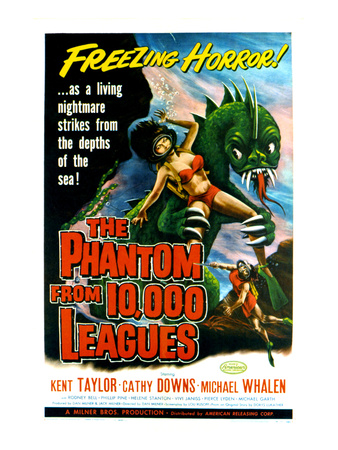 The Phantom From 10,000 Leagues, 1956 Photo