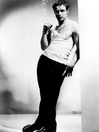 A Streetcar Named Desire, Marlon Brando, 1951 Photo!